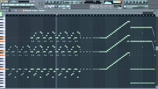 Hardwell & MAKJ - Countdown [Piano Cover/Melody Tutorial] Free FLP + Download