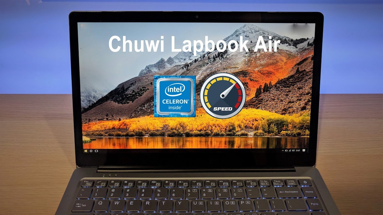 Chuwi Lapbook Air - Increase CPU tdp + Turbo Times! [from stock BIOS] by  Stefano Giove