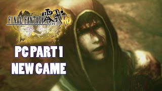 Final Fantasy Type-0 HD PC Part 1 New Game