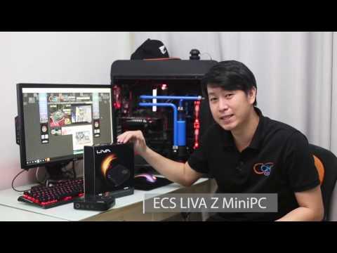 H1104 Intel H110// DDR4// USB3.1// A/&GbE// PC Barebone System ECS LIVA ONE