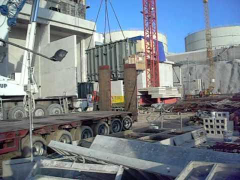 Heavy Lift -- 62-ton transformer -- MALTA 23.03.2011