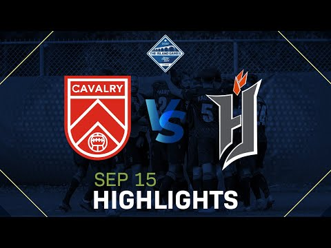 CAVALRY FC VS FORGE FC HIGHLIGHTS - SEPTEMBER 15, 2020