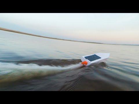 Радиоуправляемые катера своими руками видео