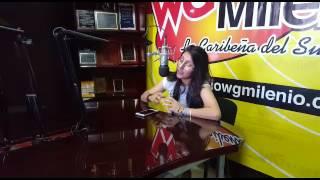 DANIELA ALEJANDRA (WG MILENIO) 92.5 FM Promocionando VIDEO CLIP AQUELLA