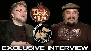 Guillermo del Toro & Jorge Gutierrez Interview - The Book of Life (HD) 2014