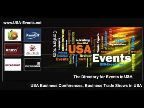 USA Business Events, Trade Shows, Business Exhibitions in USA