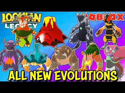 All New Loomians Full Evolutions Loomian Legacy Roblox