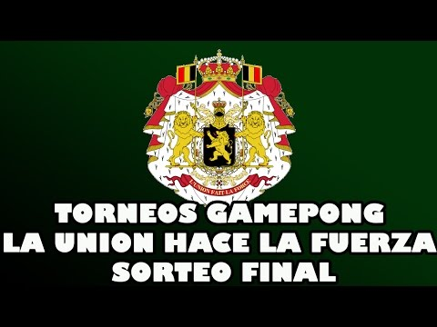 Torneo final gamepong Liga Belga