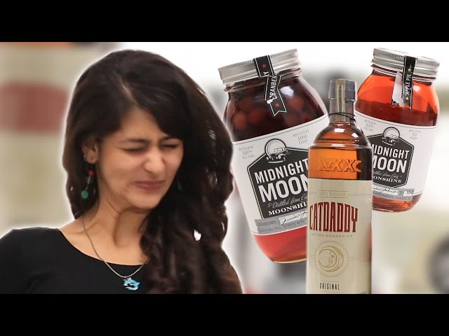 Indians Try Moonshine For The First Time