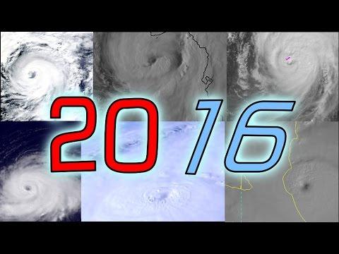 2016 Atlantic Hurricane Season Animation