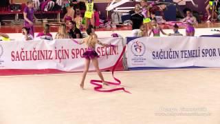 Denge Cimnastik - Ece Kalkıcı (Antalya 2013 - kurdele)
