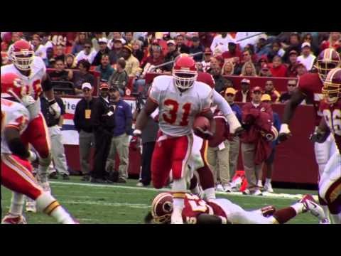 Priest Holmes Arrives in 2001