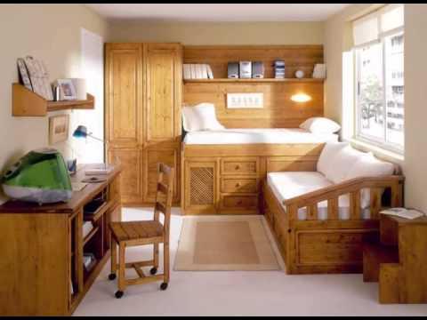 Dormitorios infantiles y juveniles en madera youtube for Habitaciones juveniles modernas