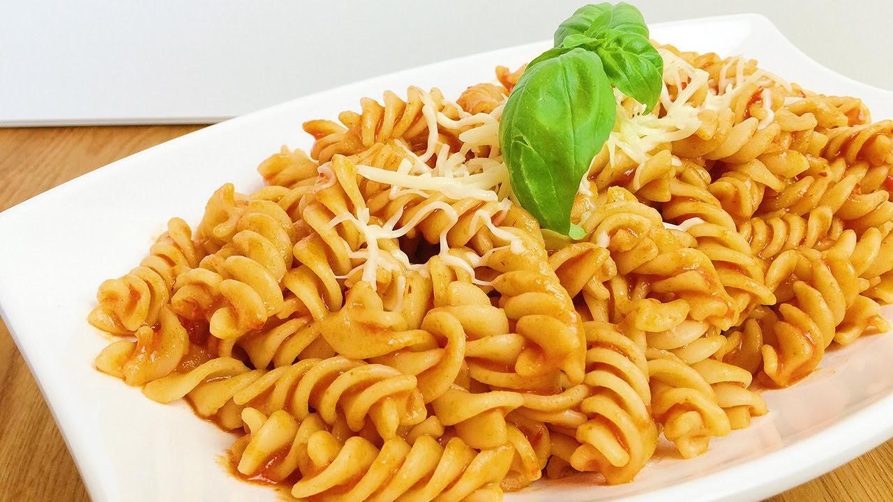 Salçalı Spagetti Nasıl Yapılır? Salçalı Domatesli Spagetti Tarifi