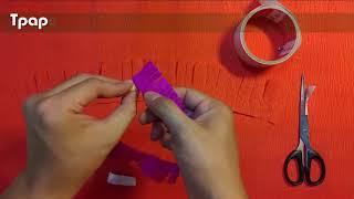 How to make Gerbera Paper Flower
