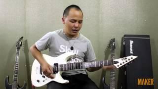 Godhand Mechanics I - 11. Bài tập Chromatic cho guitar điện