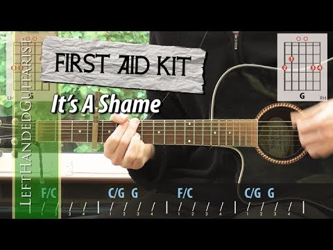 First Aid Kit - It's A Shame | guitar lesson