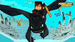 BERK'S DRAGONS are STOLEN! - Minecraft Dragons