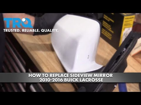 How To Replace Sideview Mirror 2010-16 Buick LaCrosse