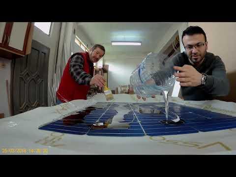 Solar Epoksi Kaplama - DIY Epoksi Resin