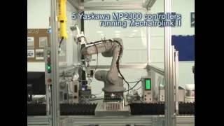 لحام الروبوت باستخدام ياسكاوا التحكم في الحركة لخلق ياسكاوا AC محركات الأقراص