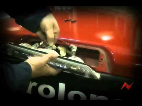 Dodge Ram 0205 Anzo USA 3rd Brake Light Install  YouTube