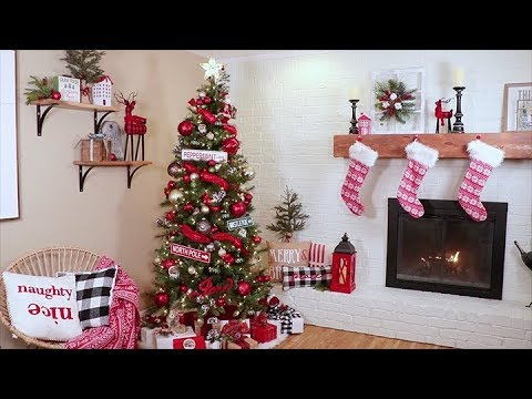 make a dazzling christmas decorator tree michaels - How To Make Christmas Decorations Youtube