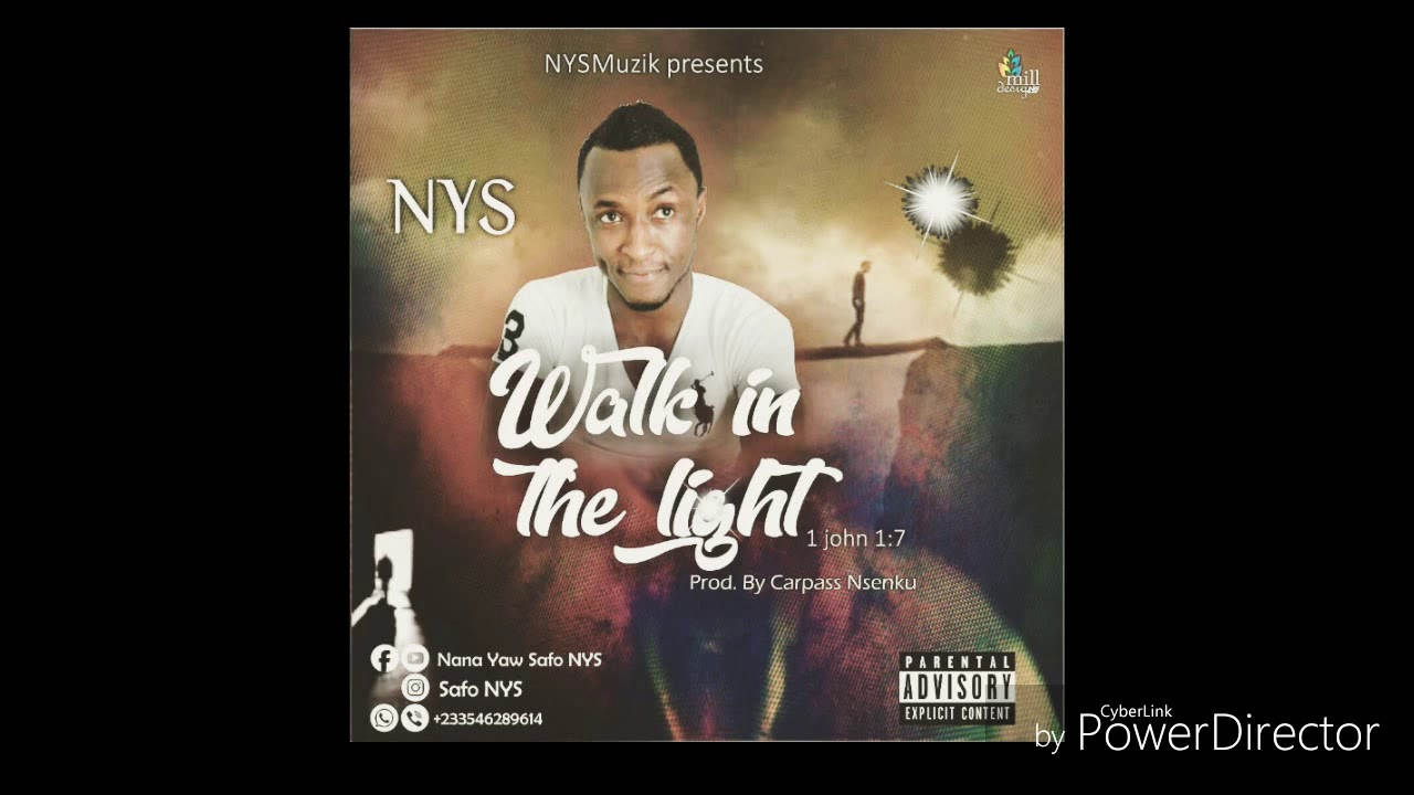 NYS - WALK IN THE LIGHT (Album Art Track Video) (Search KANTANKA CAR)