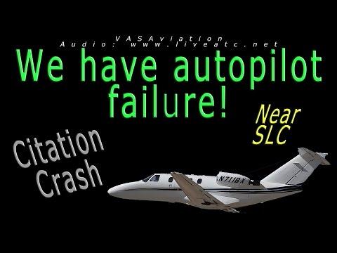[REAL ATC] Citation 525 CRASH out of Salt Lake City SLC!!