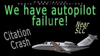 real atc citation 525 crash out of salt lake city slc