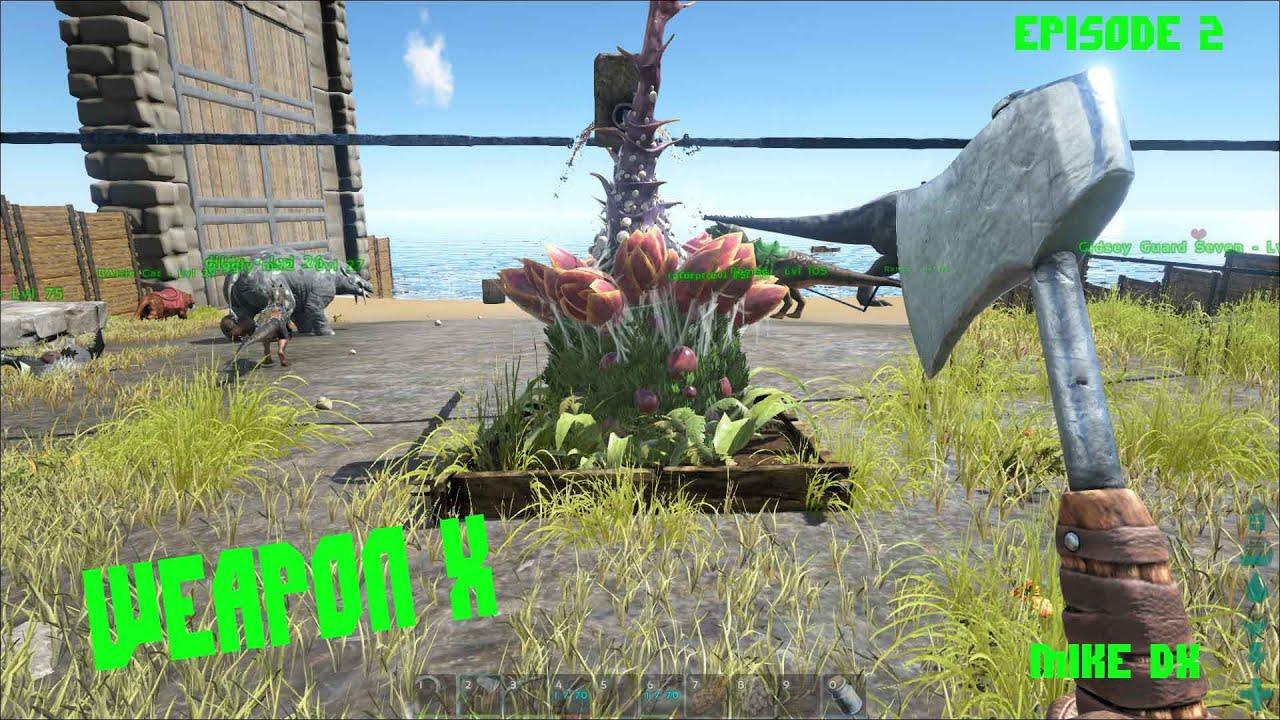 plant species x ark survival evolved beta ep2 gtx 660ti