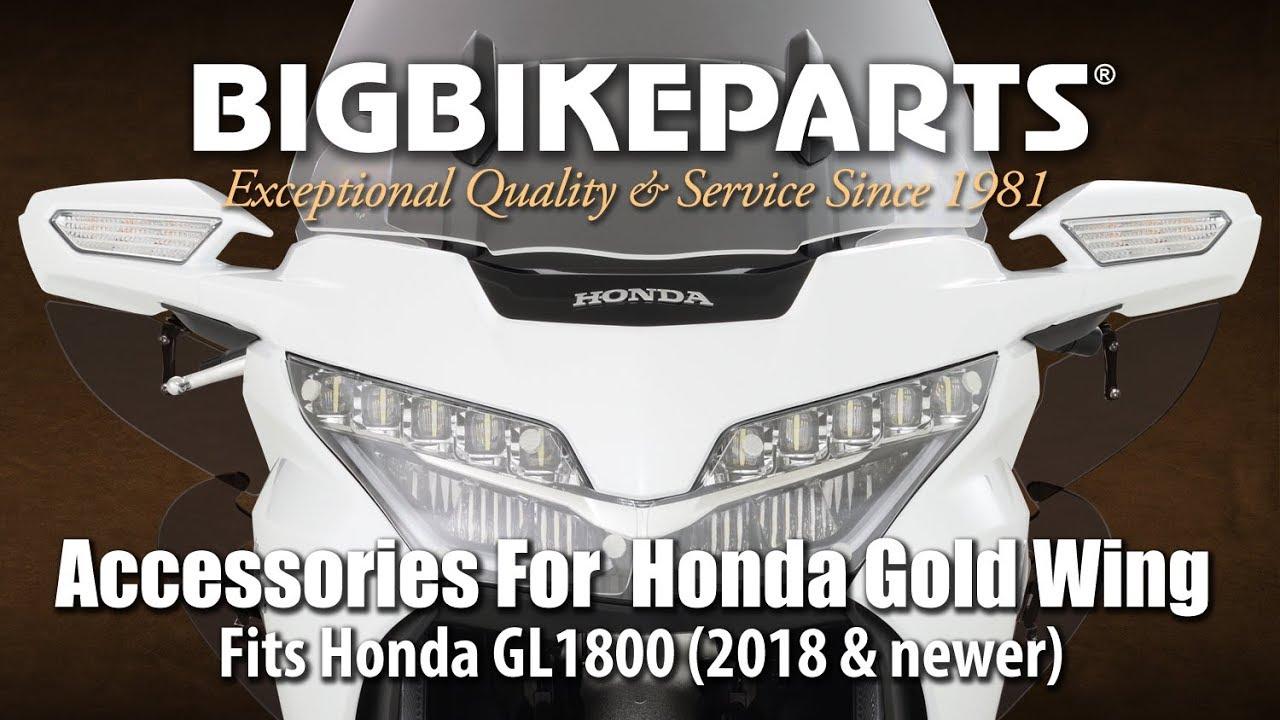 52-908 HONDA GOLDWING GL1800-F6B Lower Front Cowl with Rectangular Openings
