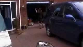 automatic motorcycle garage door opener