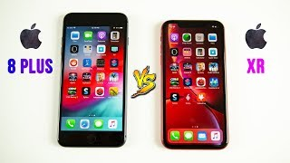 iPhone XR vs iPhone 8 Plus SPEED Test - Does 1 Generation Make a Difference?