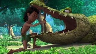 Маугли - Книга Джунглей - Все дело в зубе –развивающий мультфильм для детей