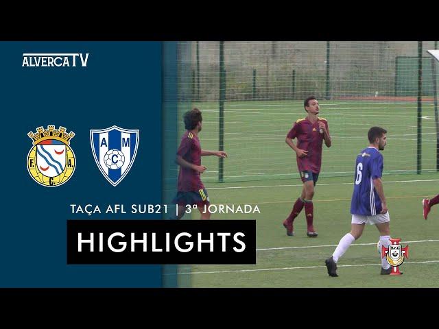 FC Alverca 5 - 0 AC Malveira | Highlights