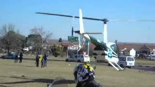 helicopter crash south africa freestate kroonstad