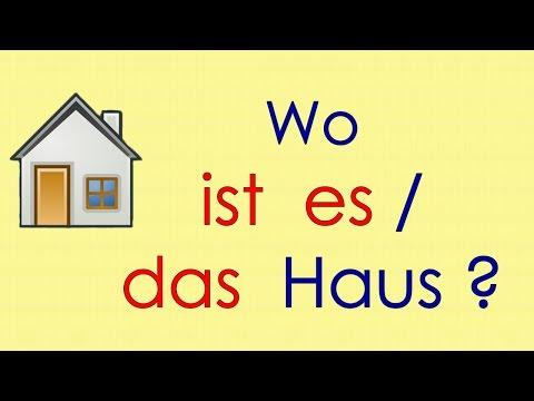 Deutsch Lernen Grammatik 1: Ich Bin, Du Bist ...