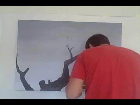 How to fill a wall – a high speed painting movie