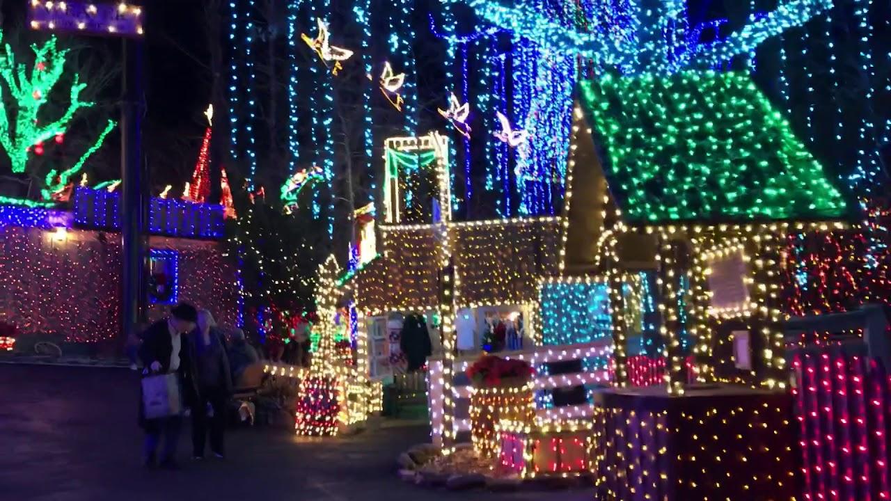 Silver Dollar City Christmas Lights Branson Missouri - YouTube