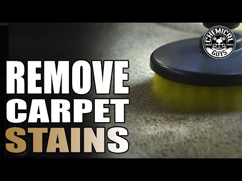 How To Clean Stubborn Stains Without An Extractor!    Toyota 4Runner   Chemical Guys Car Care