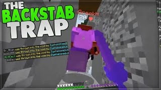 SKYWARS BACKSTAB TRAP!! | Skywars Tricks & Traps