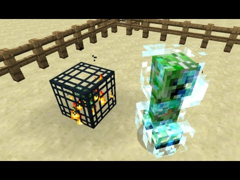 Mob Spawner MCEdit Filters For Minecraft Snapshot 12w26a