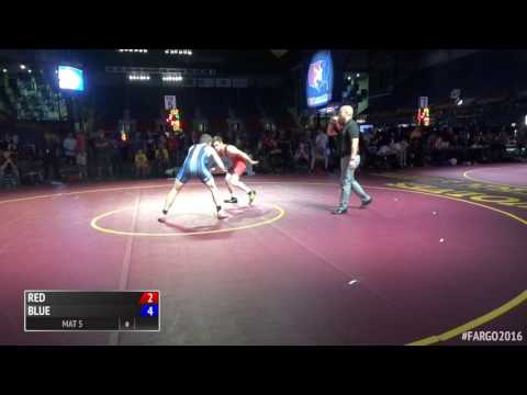 132 5th, Brock Rathbun, IA vs Brent Jones, MN