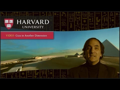 Giza in Another Dimension - Innovation at Harvard