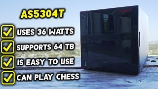 A NAS That Sucks..... AT NOTHING...!   (ASUSTOR AS5304T Review)