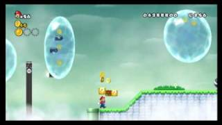 New Super Mario Bros. Wii - Star Coin Location Guide - World 7-2 | WikiGameGuides