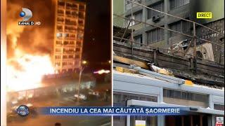 Stirile Kanal D (25.04.2021) - Incendiu la cea mai cautata saormerie din Bucuresti | Editie de pranz