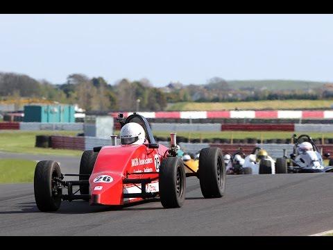 Irish Formula Vee 2015 - Round 4 - Bishopscourt 'A Race' [On Board] P8 - P2