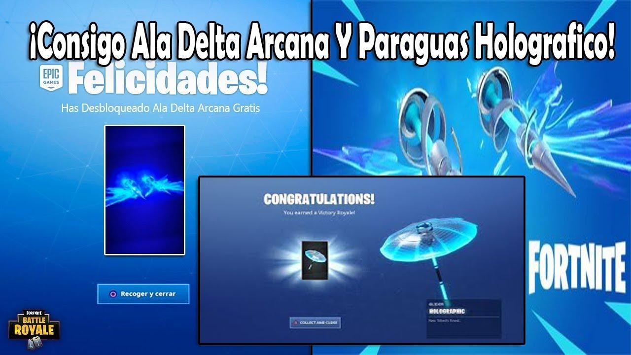 sección especial auténtico grandes ofertas #12 Fortnite: ¡Consigo el Ala Delta Arcana y Paraguas Holográfico!